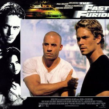 The Fast and the Furious 11x14 Movie Poster (2001)