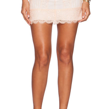 Khan Skirt in Blush
