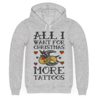 ALL I WANT FOR CHRISTMAS ARE MORE TATTOOS