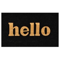 Hello Coir Doormat in 3 Colors