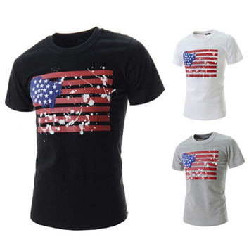 U.S Flag Graphic Tee