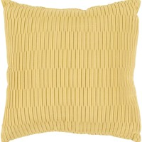 Caplin Throw Pillow Yellow