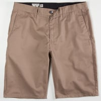 Volcom Frickin Modern Mens Chino Shorts Khaki  In Sizes