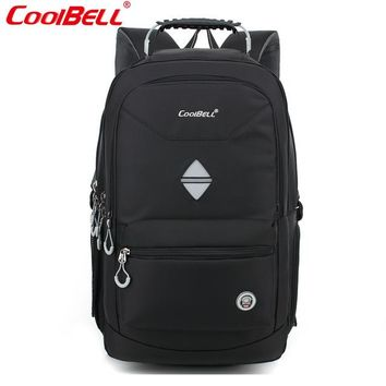 Cool Backpack school CoolBell New Fashion 17 Laptop Backpack Waterproof shockproof Business package Student bag Casual Bag Laptop bag  shipping AT_52_3