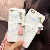 For Iphone 7 CASE COVER New Fashion Luxury Silicone Cartoon Rabbit Soft CASE For Iphone 6 6plus 6S 6Splus 7 7plus -0405