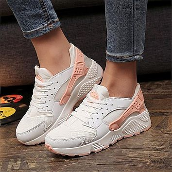Fashion Trainers Sneakers Women Casual Shoes Air Mesh Grils Wedges Canvas Shoes