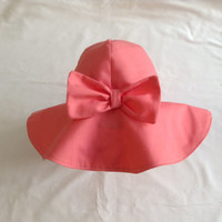 Sun Hat Baby/Toddler Floppy Sun Hat Cotton Three Sizes 10 Colours