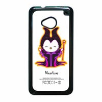 Hello Kitty Love Maleficent Disney HTC One M7 Case