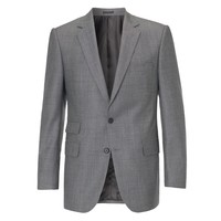 Grey Birdseye Single Breasted Suit - Suits & Separates - Menswear - Shop online