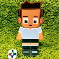 Uruguay football soccer craft activity. Printable paper toy. Instant download. Make you own cards, banners and football soccer bunting!