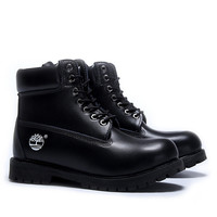 """Timberland"" Fashion Classic Casual High help Shoes Martin Boots Black"