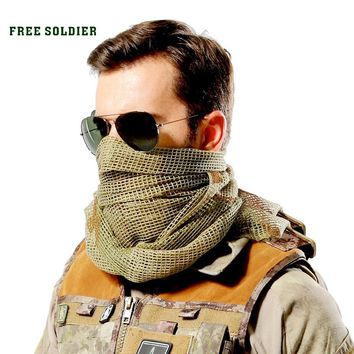 outdoor hiking camping riding windproof multi-purpose headkerchief tactical scarves bike mask big head scarf