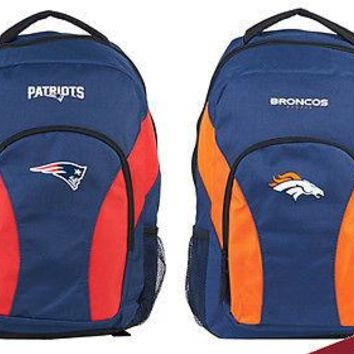 NFL FOOTBALL LEAGUE - Team Names - DRAFTDAY BACKPACK