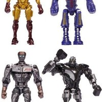 "Real Steel Deluxe Feature 8"" Figures Wave 1 Set Of 4"