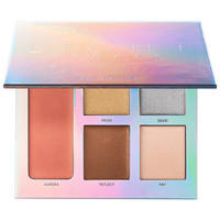 Sephora: Laura Mercier : Lightstruck Prismatic Glow Palette : luminizer-luminous-makeup