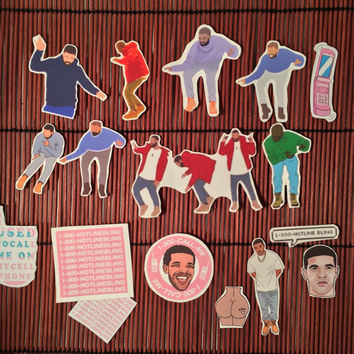 Drake Hotline Bling Sticker pack