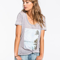 O'neill Stranded Womens Tee Grey  In Sizes