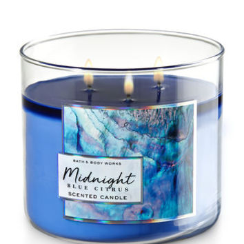 MIDNIGHT BLUE CITRUS3-Wick Candle