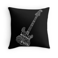 Typographic guitar by adiosmillet