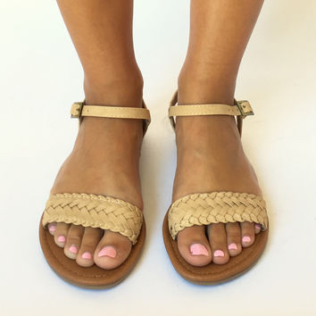 Toes In The Sand Woven Sandals