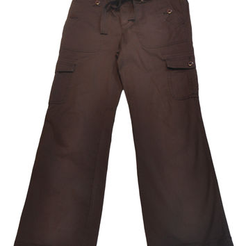 Brown Pants by Mimi Maternity