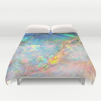 Ocean Opal Duvet Cover by TheQuarry