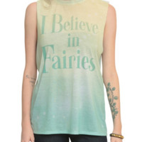 I Believe In Fairies Girls Muscle Top