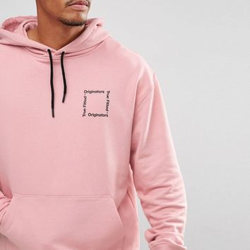 New Era Originators Oversized Hoodie With Back Print Exclusive To ASOS at asos.com
