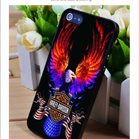 Eagle Harley Davidson iPhone for 4 5 5c 6 Plus Case, Samsung Galaxy for S3 S4 S5 Note 3 4 Case, iPod for 4 5 Case, HtC One for M7 M8 and Nexus Case