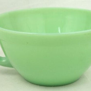 Vintage Jadeite Fireking Batter Mixing Bowl