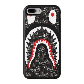 Shark Bape Goyard iPhone 8 Plus Case