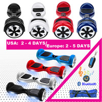 hoverboard 6.5 electric skateboard smart self balance scooter 2 wheel hoover boosted hover board walk car unicycle usa warehouse