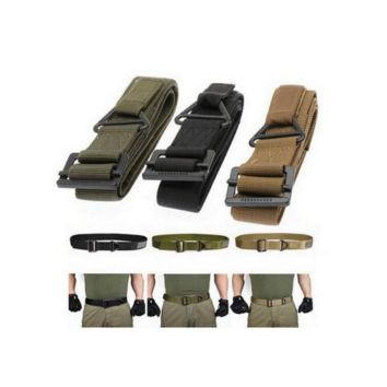 "48"" Military Tactical Belt 3 Colors for men"