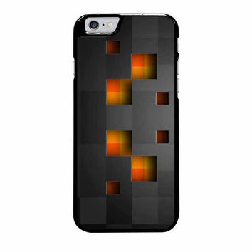 minecraft creeper black iphone 6 plus 6s plus 4 4s 5 5s 5c 6 6s cases