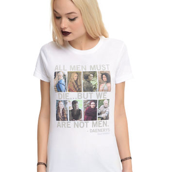 Game Of Thrones All Men Must Die Girls T-Shirt
