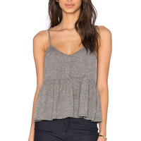 NYTT Bonnie Top in Heather Grey