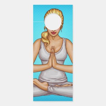 Yoga Door Hanger