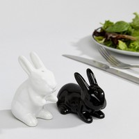 NPW Valentines Bunny Salt and Pepper Shakers at asos.com