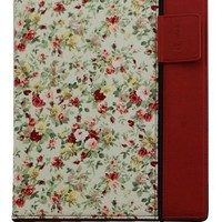 splash RAINDROP Case for The New iPad 3 3rd Gen and iPad 2 with Glider Stylus and Masque Screen Protector, Floral Red (IPD3RDRPFLRD)