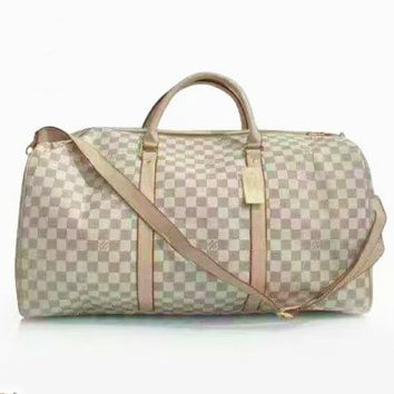 LV Women Fashion Leather Embroidery Luggage Travel Bags Tote Handbag G-LLBPFSH