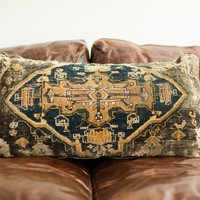 Oversize Turkish Rug Pillow