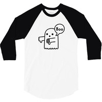 the ghost of disapproval 3/4 Sleeve Shirt