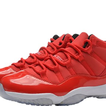 Air Jordan Retro 11 ALL RED Carmelo Anthony PE - Unreleased Samples - AUTHENTIC