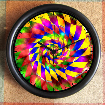 Kaleidoscope Kaliedascope rainbow SPIRAL by Backstreetcrafts