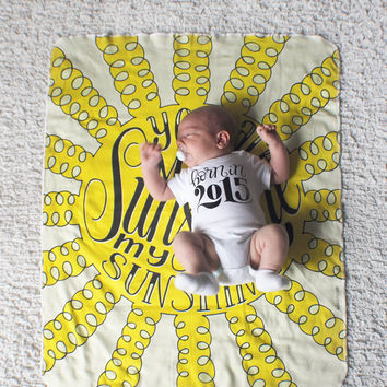 Swaddle - You are my sunshine, my only sunshine