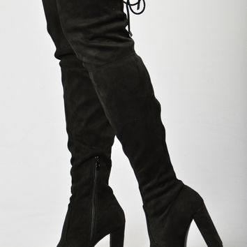 High Rise Heel - Black