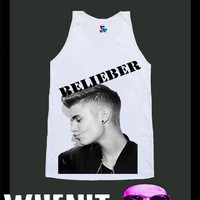 worldwide shipping just 7 days JUSTIN BIEBER shirt singlet tank top 10310