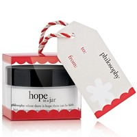 philosophy hope in a jar facial moisturizer ornament, 0.5 oz