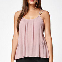 LA Hearts Crochet Inset Strappy Tunic Top at PacSun.com