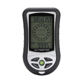 8 in 1 Multifunction Electronic Digital Altimeter Barometer Thermometer Compass Weather Forecast